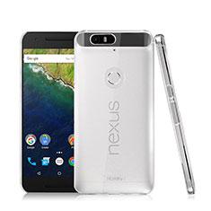 Custodia Crystal Trasparente Rigida per Google Nexus 6P Chiaro