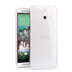 Custodia Crystal Trasparente Rigida per HTC One E8 Chiaro