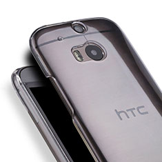 Custodia Crystal Trasparente Rigida per HTC One M8 Chiaro