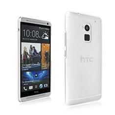 Custodia Crystal Trasparente Rigida per HTC One Max Chiaro