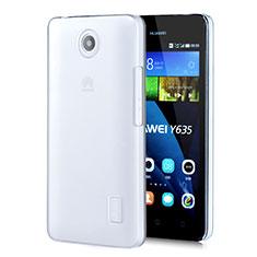 Custodia Crystal Trasparente Rigida per Huawei Ascend Y635 Dual SIM Chiaro