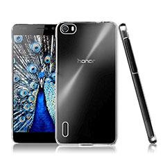 Custodia Crystal Trasparente Rigida per Huawei Honor 6 Chiaro