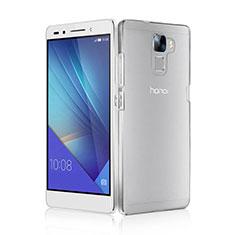Custodia Crystal Trasparente Rigida per Huawei Honor 7 Chiaro