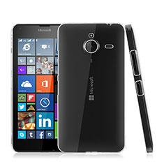 Custodia Crystal Trasparente Rigida per Microsoft Lumia 640 XL Lte Chiaro