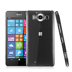 Custodia Crystal Trasparente Rigida per Microsoft Lumia 950 Chiaro