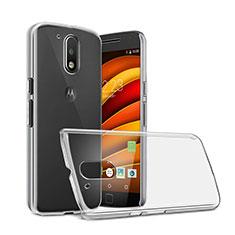 Custodia Crystal Trasparente Rigida per Motorola Moto G4 Plus Chiaro