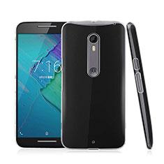 Custodia Crystal Trasparente Rigida per Motorola Moto X Style Chiaro