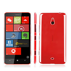 Custodia Crystal Trasparente Rigida per Nokia Lumia 1320 Chiaro