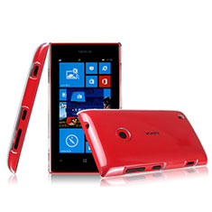 Custodia Crystal Trasparente Rigida per Nokia Lumia 525 Chiaro