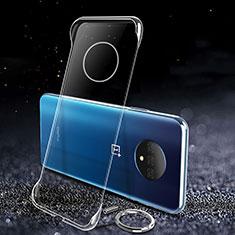 Custodia Crystal Trasparente Rigida per OnePlus 7T Chiaro