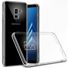 Custodia Crystal Trasparente Rigida per Samsung Galaxy A6 (2018) Chiaro