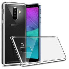 Custodia Crystal Trasparente Rigida per Samsung Galaxy A6 Plus (2018) Chiaro