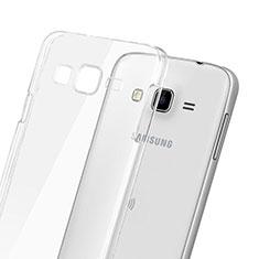 Custodia Crystal Trasparente Rigida per Samsung Galaxy J3 Chiaro