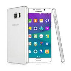 Custodia Crystal Trasparente Rigida per Samsung Galaxy Note 5 N9200 N920 N920F Chiaro