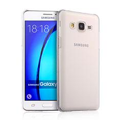 Custodia Crystal Trasparente Rigida per Samsung Galaxy On5 Pro Chiaro
