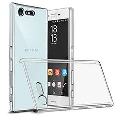 Custodia Crystal Trasparente Rigida per Sony Xperia X Compact Chiaro