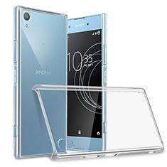 Custodia Crystal Trasparente Rigida per Sony Xperia XA1 Plus Chiaro
