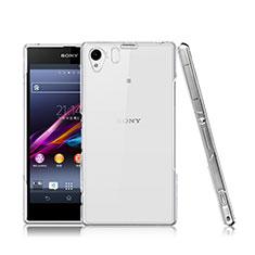 Custodia Crystal Trasparente Rigida per Sony Xperia Z1 L39h Chiaro