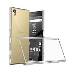 Custodia Crystal Trasparente Rigida per Sony Xperia Z5 Chiaro