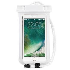 Custodia Impermeabile Subacquea Universale per Huawei Mate 40 Bianco