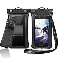 Custodia Impermeabile Subacquea Universale W05 per Apple iPhone 11 Pro Nero