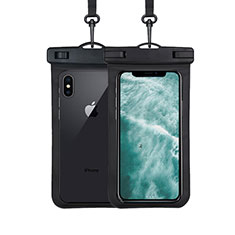 Custodia Impermeabile Subacquea Universale W07 per Apple iPhone 11 Pro Nero