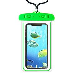 Custodia Impermeabile Subacquea Universale W08 per Xiaomi Redmi Note 7 Pro Verde