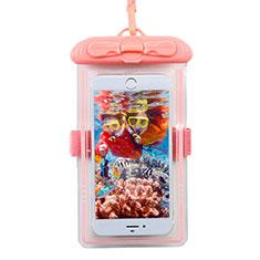 Custodia Impermeabile Subacquea Universale W11 per LG K52 Rosa