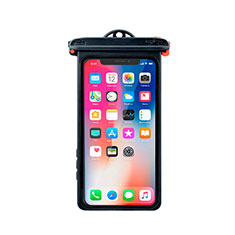 Custodia Impermeabile Subacquea Universale W14 per Apple iPhone 8 Plus Nero