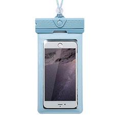 Custodia Impermeabile Subacquea Universale W17 per LG K52 Blu