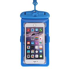Custodia Impermeabile Subacquea Universale W18 per Huawei Mate 40 Blu