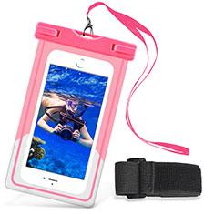 Custodia Impermeabile Waterproof Universale W03 per Huawei Mate 30 5G Rosa
