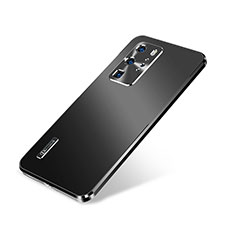 Custodia Lusso Alluminio Cover A01 per Huawei P40 Pro Nero