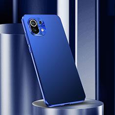 Custodia Lusso Alluminio Cover M01 per Xiaomi Mi 11 5G Blu