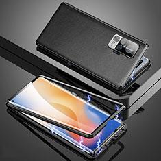 Custodia Lusso Alluminio Cover M04 per Vivo X50 Pro 5G Nero