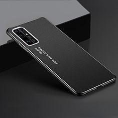 Custodia Lusso Alluminio Cover per Huawei Honor 30 Nero