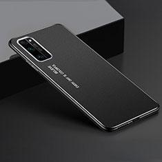 Custodia Lusso Alluminio Cover per Huawei Honor 30 Pro Nero
