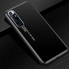 Custodia Lusso Alluminio Cover per Xiaomi Mi 10 Ultra Nero