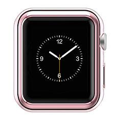 Custodia Lusso Alluminio Laterale A01 per Apple iWatch 2 42mm Rosa