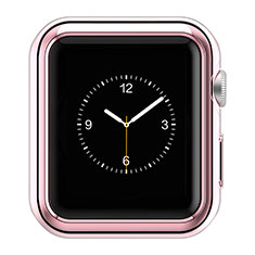 Custodia Lusso Alluminio Laterale A01 per Apple iWatch 42mm Rosa