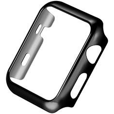 Custodia Lusso Alluminio Laterale C03 per Apple iWatch 3 38mm Nero