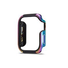 Custodia Lusso Alluminio Laterale Cover per Apple iWatch 5 40mm Colorato