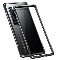 Custodia Lusso Alluminio Laterale Cover per Xiaomi Mi 10 Ultra Nero