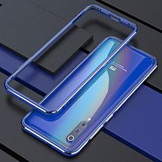 Custodia Lusso Alluminio Laterale Cover per Xiaomi Mi 9 Blu