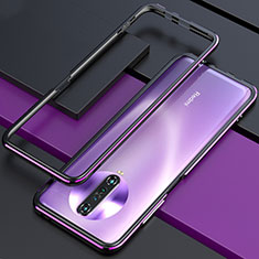 Custodia Lusso Alluminio Laterale Cover per Xiaomi Redmi K30 4G Viola