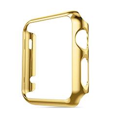 Custodia Lusso Alluminio Laterale per Apple iWatch 3 38mm Oro