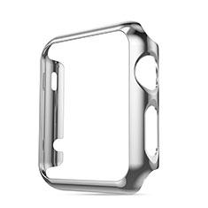 Custodia Lusso Alluminio Laterale per Apple iWatch 3 42mm Argento