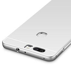 Custodia Lusso Alluminio Laterale per Huawei Honor V8 Argento