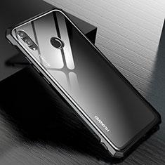 Custodia Lusso Alluminio Laterale Specchio Cover M01 per Huawei Honor View 10 Lite Nero