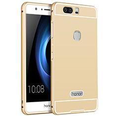 Custodia Lusso Alluminio per Huawei Honor V8 Oro